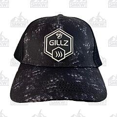 Gillz Men's Trucker Hat Hex Patch Black