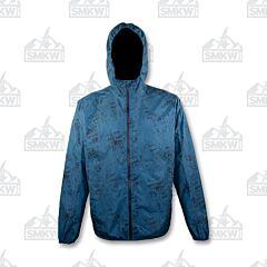 Gillz Men's Waterman Packable Lightweight Jacket Blue