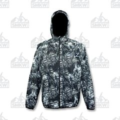 Gillz Men's Waterman Packable Lightweight Jacket Grunge