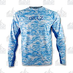 Gillz Men's Tournament Series Waterman Print Blue