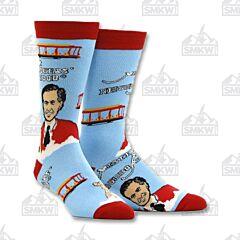 Oooh Yeah! Good Day Mr. Rodgers Men's Crew Socks