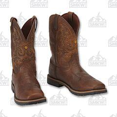 Justin Boots Men's Fireman Cowboy Boots