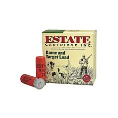 "Federal Estate Game & Target 20 Gauge 2.75"" 7/8 oz #6 Lead Shot 25 Rounds"