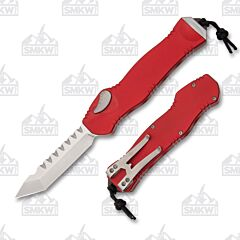 Heretic Hydra Tanto Stonewash Red