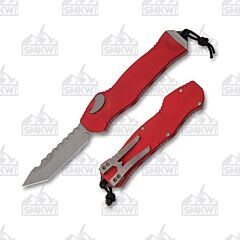 Heretic Hydra Battleworn Tanto Red Handle