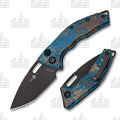 Heretic Knives Medusa Auto Chemtina Copper Limited Run