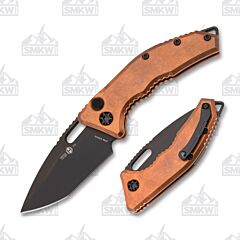 Heretic Knives Medusa Auto Copper Limited Run