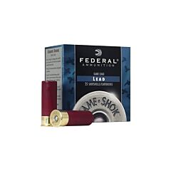 "Federal Game Shok 16 Gauge 2.75"" 1-1/8 oz #4 Lead Shot 25 Rounds"