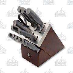 J.A. Henckels International Graphite 14-Piece Self Sharpening Block Set