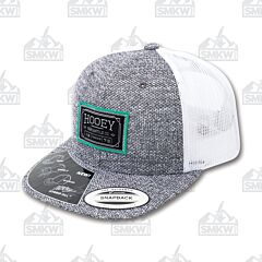 Hooey Doc Gray and White Trucker Hat