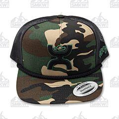 Hooey Camo Black Trucker Hat