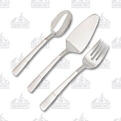 JA Henckel Zwiling Lustre 3 Piece Flatware Serving Set
