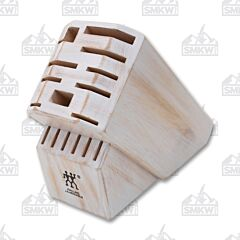 Zwilling Pro Rustic White 16-Slot Knife Block