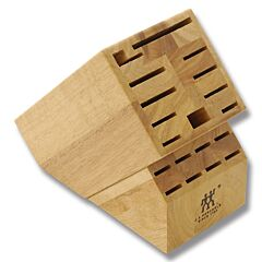 Henckels TWIN 19-Slot Hardwood Knife Block (Empty)