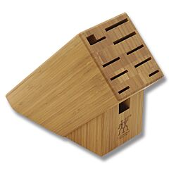 Henckels TWIN 10-Slot Bamboo Knife Block (Empty)