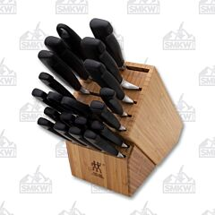 Zwilling Four Star 20-Piece Knife Block Set