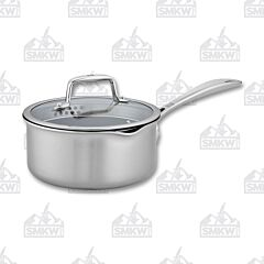 Zwilling J.A. Henckels Clad CFX Stainless Steel Ceramic Nonstick 2 Qt. Saucepan