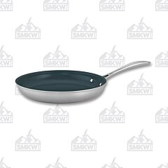 "Zwilling J.A. Henckels Clad CFX Stainless Steel Ceramic Nonstick 10"" Fry Pan"