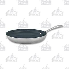 "Zwilling J.A Henckels Clad CFX Stainless Steel Ceramic Nonstick 12"" Fry Pan"