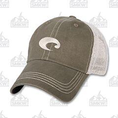 Costa Mesh Hat Moss Green