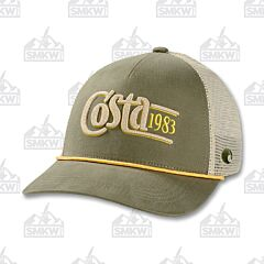 Costa Trucker Traditions Hat Moss Green
