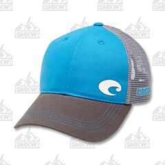 Costa Logo Trucker Hat Blue