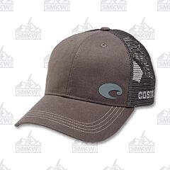 Costa Logo Trucker Hat Gray