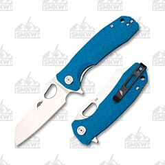 Honey Badger D2 Medium Wharncleaver Blue