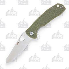 Honey Badger Large Leaf Green Handle