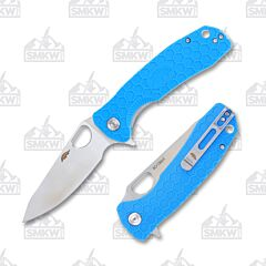 Honey Badger Large Leaf Blue Handle