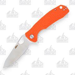 Honey Badger Large Leaf Orange Handle