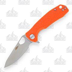 Honey Badger Small Leaf Orange Handle