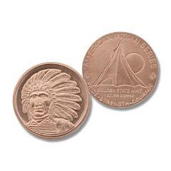 Red Cloud 1 oz Copper Round