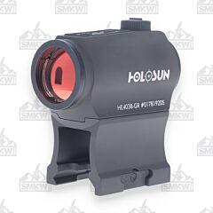 Holosun Elite 2 MOA 1X20mm Micro Green Dot Sight - HE403BGR
