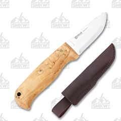 Helle Wabakimi Stainless Steel Blade Curly Birch Handle