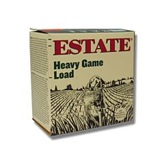 Estate Heavy Game Load 12 Gauge 2-3/4 1/1-8 oz Shot 8 Shot 25 Rounds