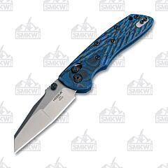 Hogue Deka ABLE Lock Folder Blue Wharncliffe