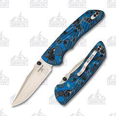 Hogue Deka ABLE Lock Folder Blue Clip Point