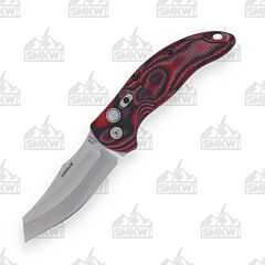 Hogue EX-04 Automatic Red Lava G-Mascus Wharncliffe