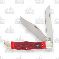 Hen & Rooster Folding Hunter Red Pickbone