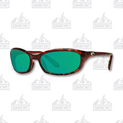Costa Harpoon Tortoise Green Mirror Sunglasses