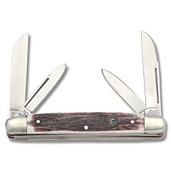 Hen and Rooster Stag Congress Stainless Steel Blades