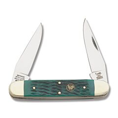 Hen & Rooster Green Pick Bone Muskrat