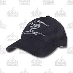 Hen & Rooster Baseball Hat Black