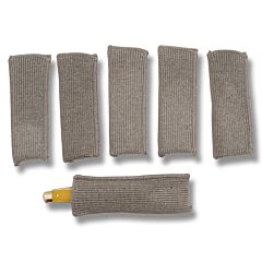 "Sack Ups Knife Pouch Set of 6 for Small Knives up to 5"" Closed"
