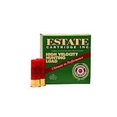 "Federal Estate High Velocity Hunting Load 12 Gauge 2.75"" 1-1/4 oz #5 Lead Shot 25 Rounds"