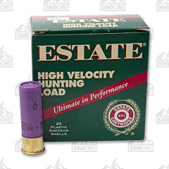 "Estate Cartridge 16 Gauge 2-3/4"" #6 Shot 1-1/8 OZ 25 Rounds"