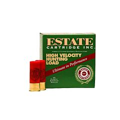 "Federal Estate High Velocity Hunting Load 20 Gauge 2.75"" 1 oz #6 Lead Shot 25 Rounds"