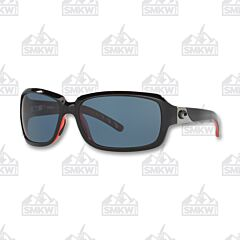 Costa Isabela Black Coral Plastic Sunglasses