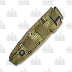 ESEE Khaki Nylon MOLLE Back for IZULA and Candiru Fixed Blades